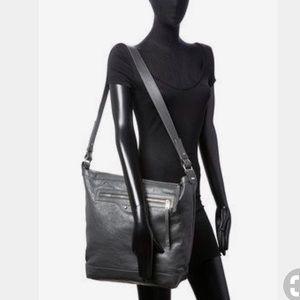 Balenciaga Large Leather Hobo in Grey